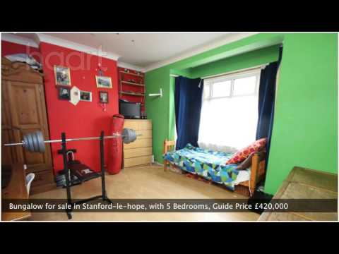 Bungalow for sale in Stanford-le-hope,  Guide Price £420,000