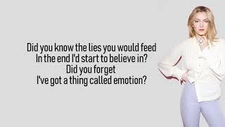 Astrid S Emotion Lyrics Lyric Video