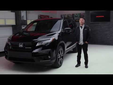 The 2019 Honda Pilot Black Edition Walkaround Youtube