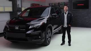 The 2019 Honda Pilot Black Edition Walkaround