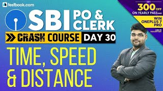 Speed, Time and Distance Problems for SBI PO 2019 | Math Class for SBI Clerk 2019 | Utkarsh Sir