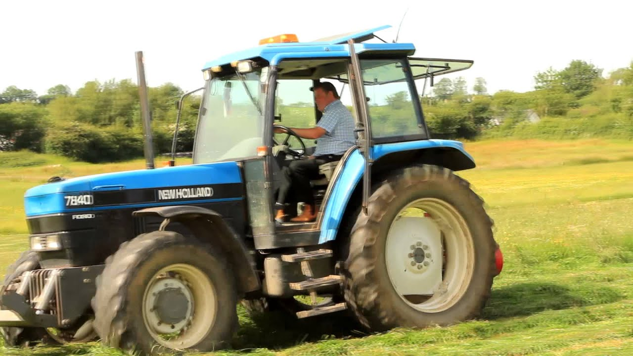 New Holland 7840 TRACTOR-Mad