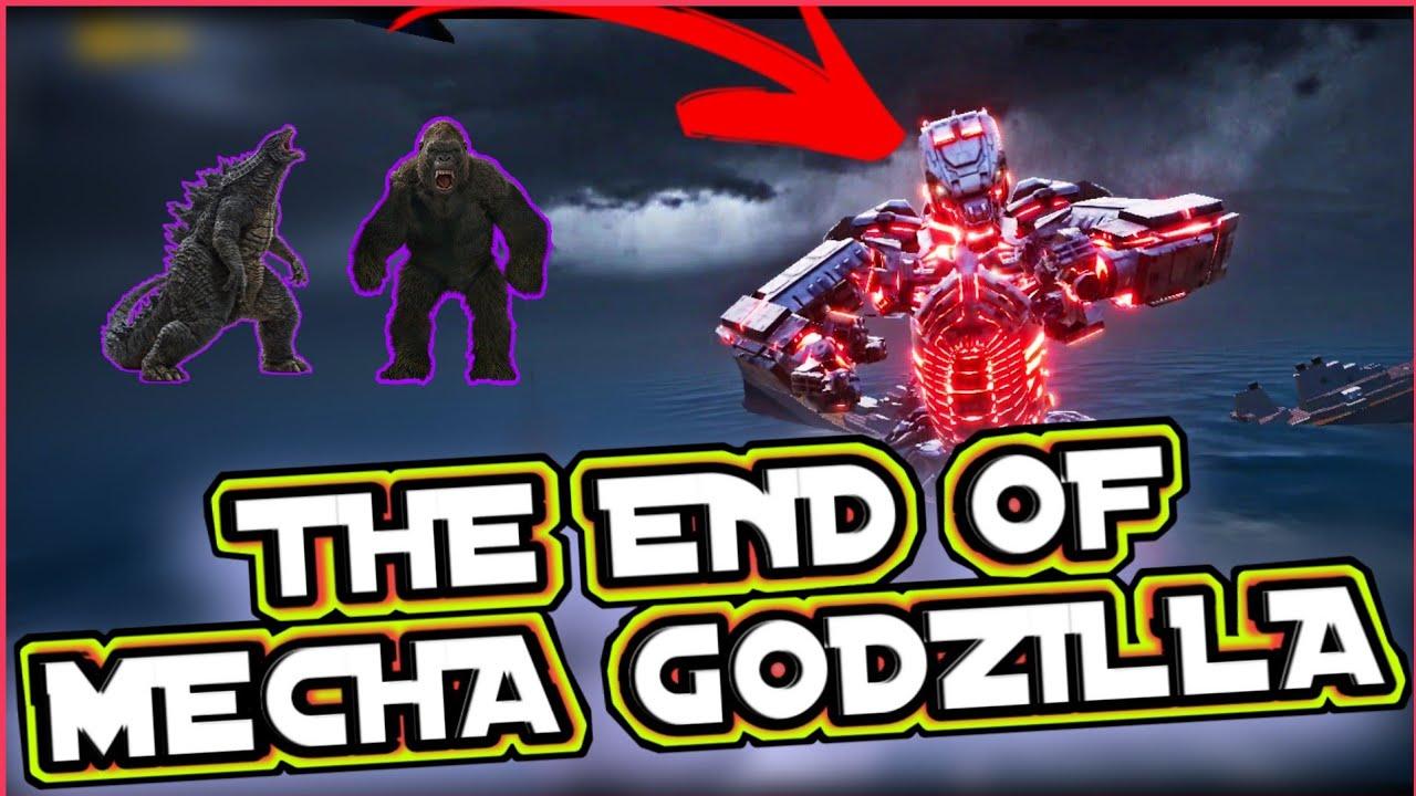The End Of 🔥MECHA GODZILLA 🔥| INTENSE LAST FIGHT | Godzilla And King Kong | TF SOUL