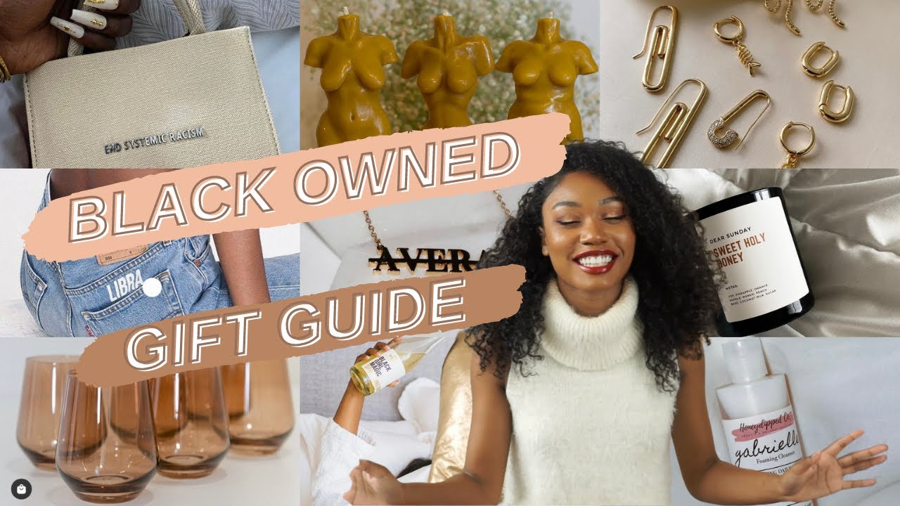 2020 Black Owned Business Gift Guide| Unique Gifts for Her Self-care, Fashion, Handbags, Jewelry