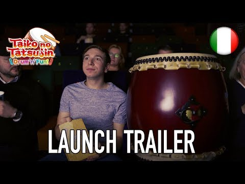 Taiko no Tatsujin: Drum 'n' Fun! - Launch Trailer (Italiano)
