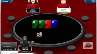 Micky1966 On Final Table In $150 Freeroll On Full Tilt Poker.wmv