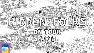 Hidden Folks: ON TOUR iOS Gameplay Part 1 (by Adriaan de Jongh)