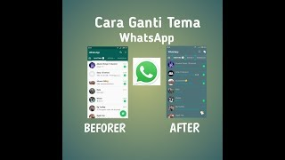 Download lagu Mudah Cara Ganti Tema WhatsApp MP3