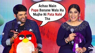 Kapil Sharma Funny Reaction On Soon To Be Father | Angry Birds 2