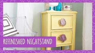 Diy Refinished Nightstand - Hgtv Handmade