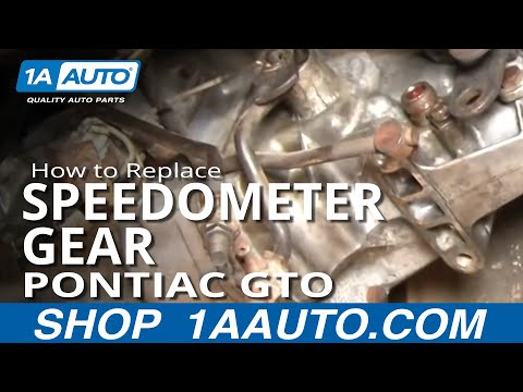 How To Replace Speedometer Gear 64-74 Pontiac GTO