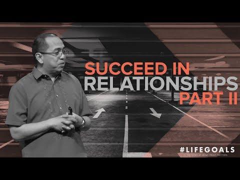 #Lifegoals - Succeed In Family Relationships: Embrace Restoration - Bong Saquing