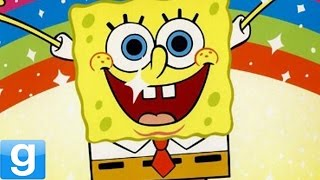 PLAYABLE SPONGEBOB CHARACTERS! - Gmod Spongebob Squarepants Playermodel Mod (Garry's Mod)