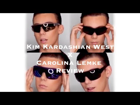 KIM KARDASHIAN / CAROLINA LEMKE SUNGLASSES REVIEW   Michael David