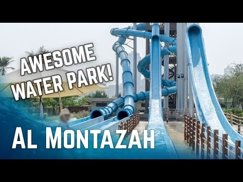ALL WATER SLIDES at Al Montazah Water Park Sharjah!