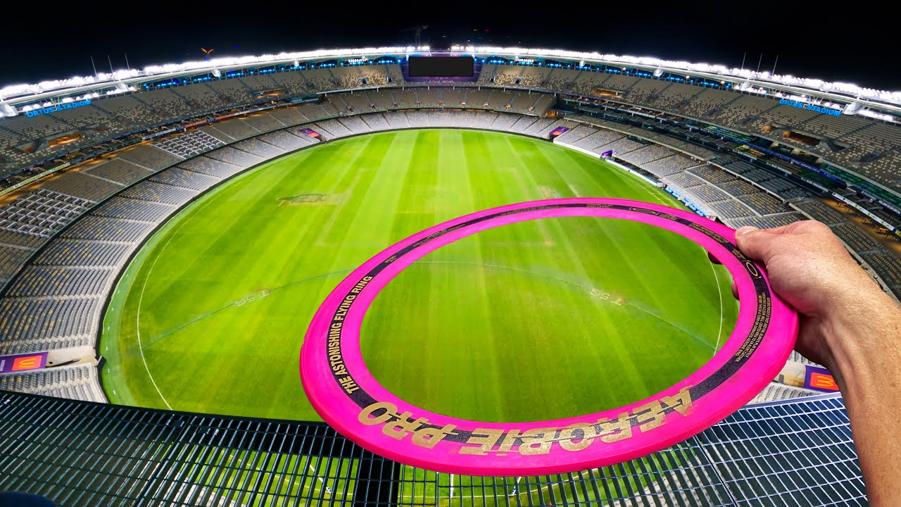 Can The World Record Frisbee Fly The Length Of This Stadium?