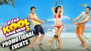 Kyaa Kool Hain Hum 3 (2016) Movie Promotional Events | Tusshar, Aftab, Mandana, Gizele