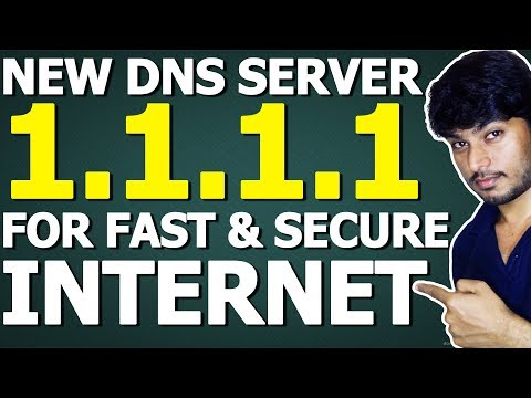 What is 1.1.1.1? New DNS Server for Fast and Secure INTERNET!