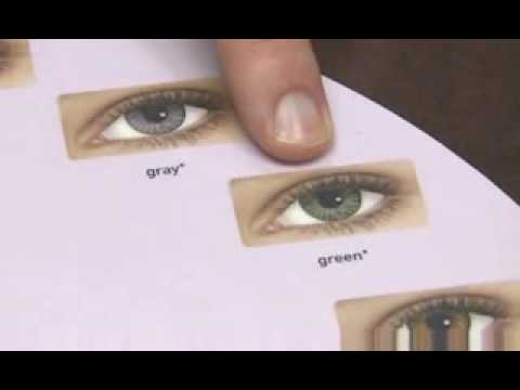 Guide on choosing color contact lenses for dark eyes