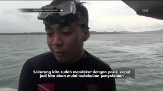 Aksi Penyelaman Untuk Memeriksa Kapal Barang Di Sekitar Kepulauan Bintan - Customs Protection