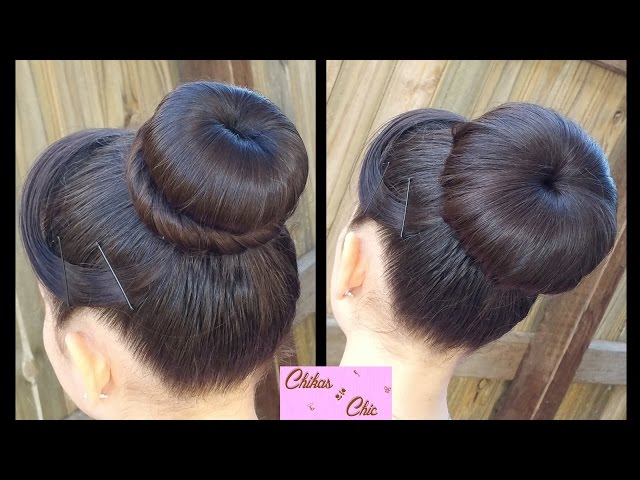 How to make your own hair donut