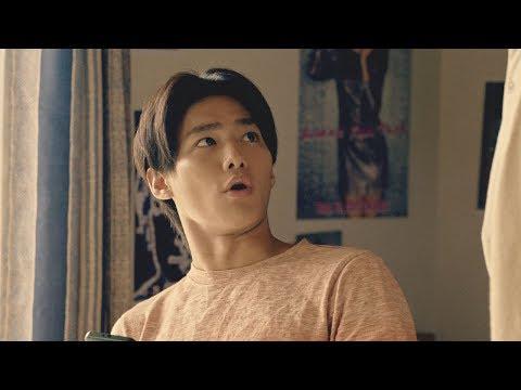 野村周平、松本人志と親子役で共演 求人メディア『タウンワーク』新TVCM「何ダウンロードしてんだ!」篇&メイキング