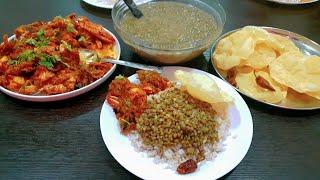 പെരുന്നാൾ കഴിഞ്ഞിട്ടുള്ള ഒരു നാടൻ ഊണ് vlog/ ayeshas kitchen lunch meal preparation/ greengram/crab roast/ cherupayar curry / roasted crabrecipes simple lunch...