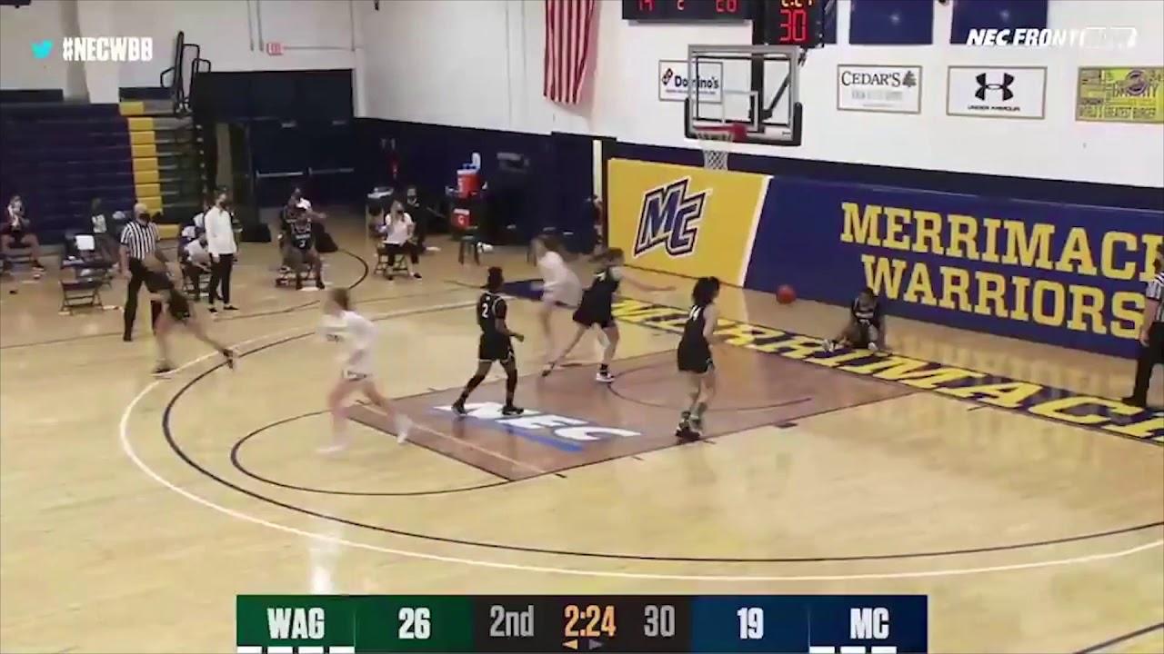 WBB: Women's Basketball Highlights vs Wagner (1-29-21)