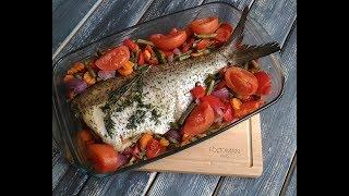 Лещ с овощами в духовке: рецепт от Foodman.club