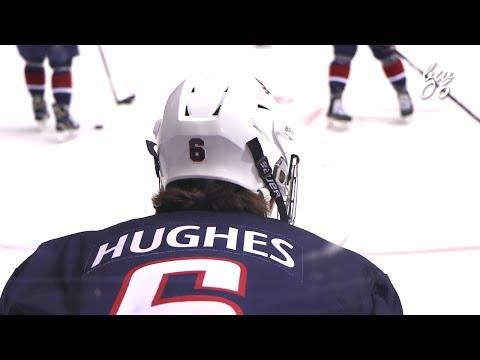 Jack Hughes 2018 IIHF U18 Highlights