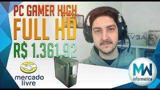 COMO MONTAR QUALQUER PC GAMER FULL HD HIGH GASTANDO NO MÁXIMO R$ 1.400,00