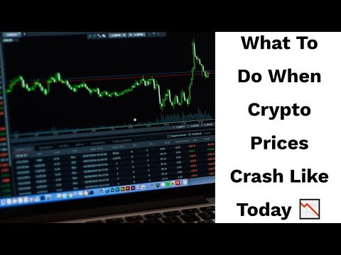 16th Jan - What To Do When Crypto Prices Crash Like Today 📉