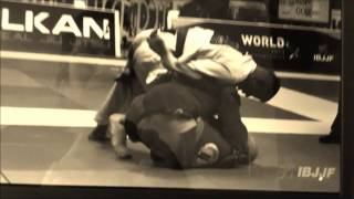 IBJJF Worlds 2013 Andrew Mclauchlan Brown Belt Heavy Round 3 2013 World Chmapionships