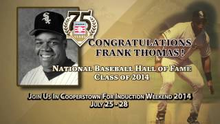 2014 BBWAA Hall of Fame Electee Frank Thomas