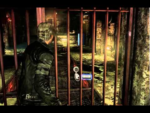 Resident evil 6 Leon & Helena Chapter 2 (Underground Laboratory)
