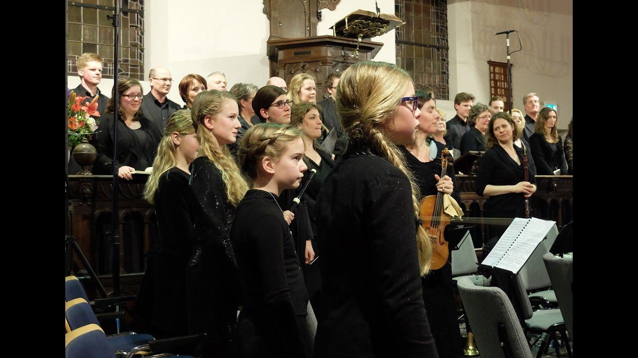 Compilatie Johannes Passion 2016 m m v  Dutch Baroque Junior Singers