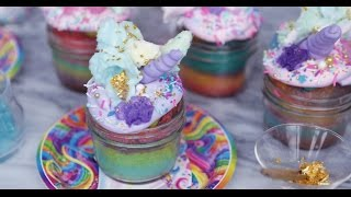 How to Make Unicorn Cupcakes | Get the Dish
