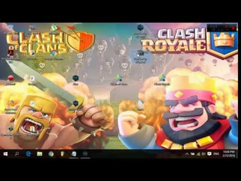 Como Jugar Clash of Clans y Clash Royale En pc Sin BlueStacks   Mega   2016   Nox