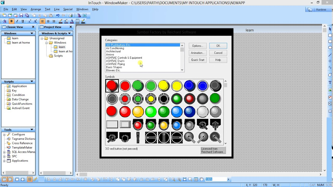 Step-by-Step Learn Wonderware InTouch SCADA (PLC-SCADA-2 ...