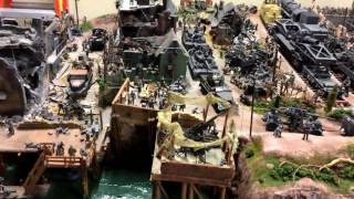Large model WW2 1/35 scale Diorama and Personal Collection STUNNING