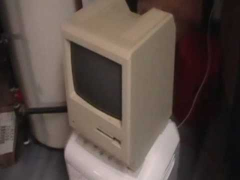 Very old Macintosh computer