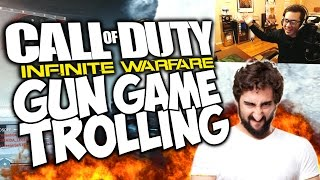 "WHINY TRYHARDS GIVE UP. ""COD IW GUN GAME TROL..."