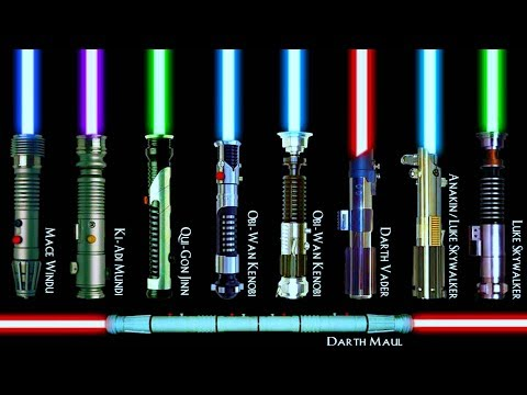 EVERY SINGLE Lightsaber Color Meaning Explained (CANON)