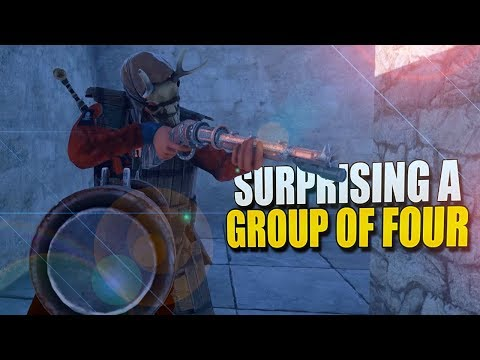 SURPRISING A Group Of FOUR! (Rust Survival) #88