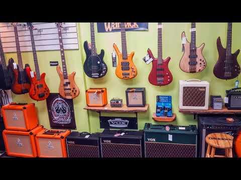 Basone Guitar Shop in Vancouver BC