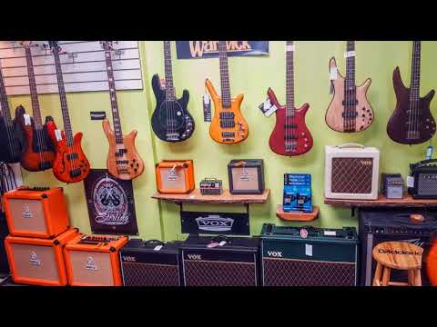 Basone Guitar Shop in Vancouver BC