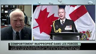 Allégations d'inconduites contre des hauts gradés des Forces armées canadiennes