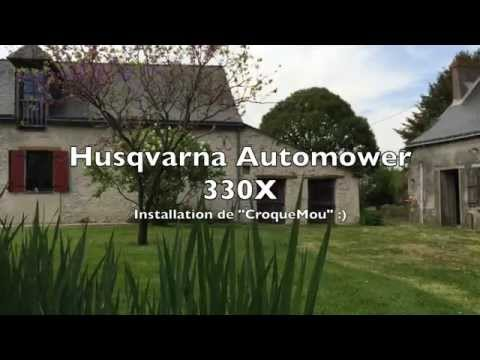 automower installation husqvarna 330x. Black Bedroom Furniture Sets. Home Design Ideas
