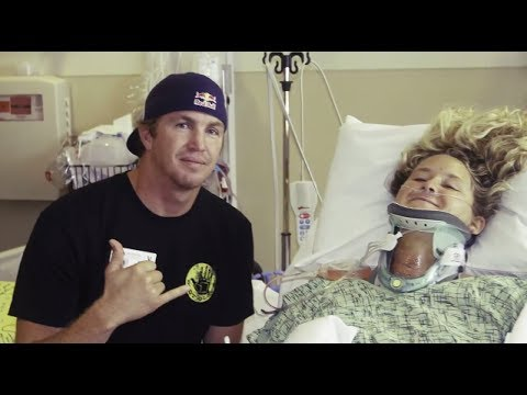 A surfer's optimism after tragic spinal cord injury - Brooke Thabit: A day in the life