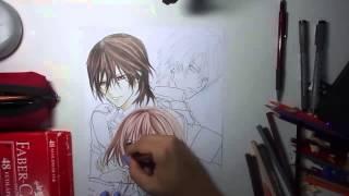 Speed Drawing - Vampire Knight